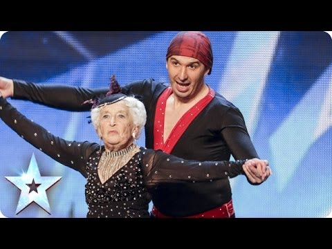 electric - See more from Britain's Got Talent at http://itv.com/talent Simon's not strictly in the mood for ballroom, but Paddy & Nico have much more in store than firs...