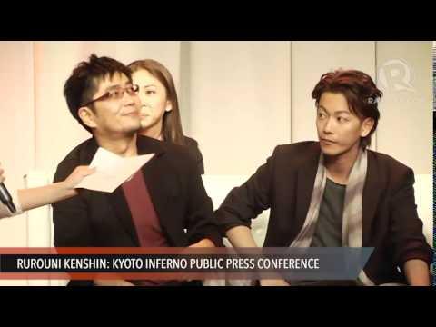 'Rurouni Kenshin' stars Manila press conference