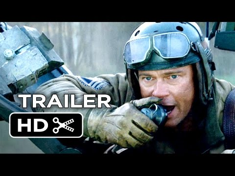 MOVIES: Fury - Official Trailer feat Brad Pitt