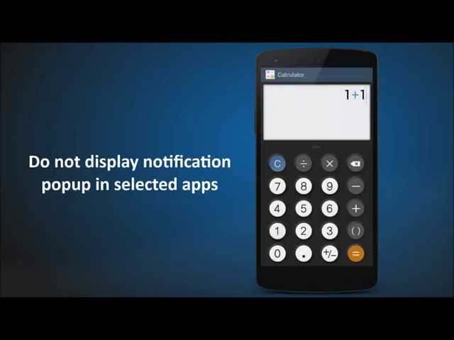 Floatify - Floating notifications on Android