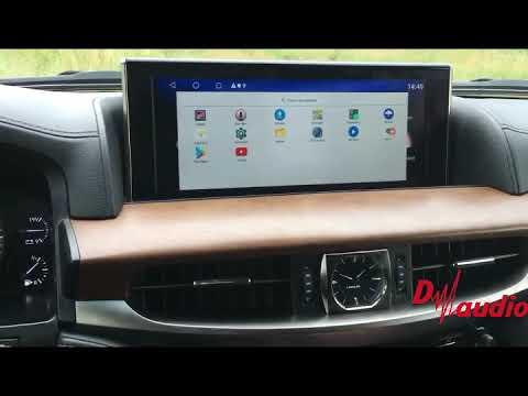 Мультимедийный навигационный блок Lexus LX/RX (2015-2018)  Android 8.1  4GB/64GB