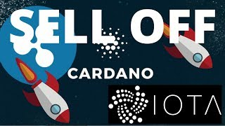 Ripple, IOTA and Cardano Major Sell Off - Price Prediction