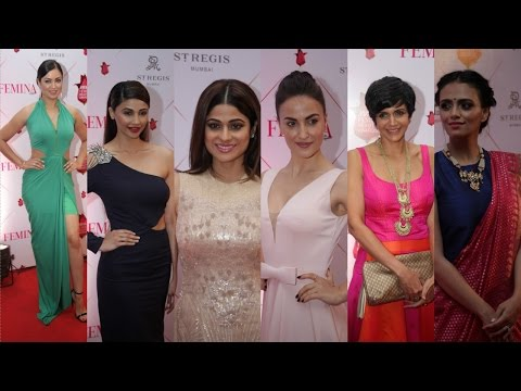 Femina & Nykaa Host 3 Nykaa Femina Beauty Awards 2017 With Kriti Kharbanda | Mandira Bedi
