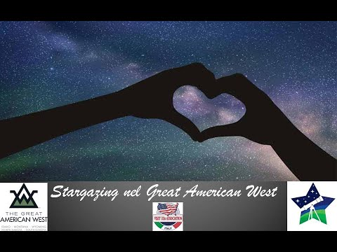 Video STARGAZING NEL GREAT AMERICAN WEST (ID,MT,ND,SD,WY) (8-4-2021)