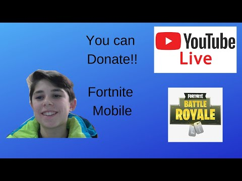 {TV Entertainment} Fortnite Mobile Gameplay