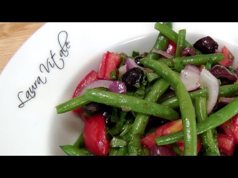 Green Bean Salad – Recipe by Laura Vitale – Laura in the Kitchen Episode 156