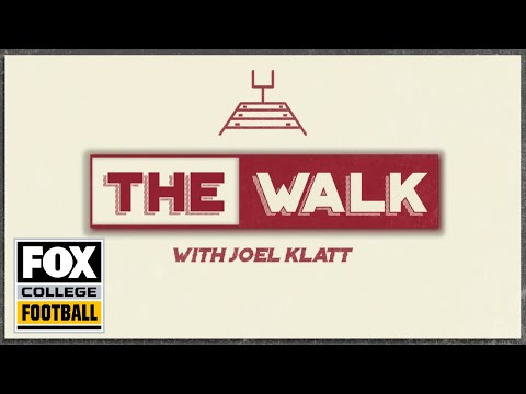 Video: The Walk with Joel Klatt: Michigan at Wisconsin | FOX COLLEGE FOOTBALL