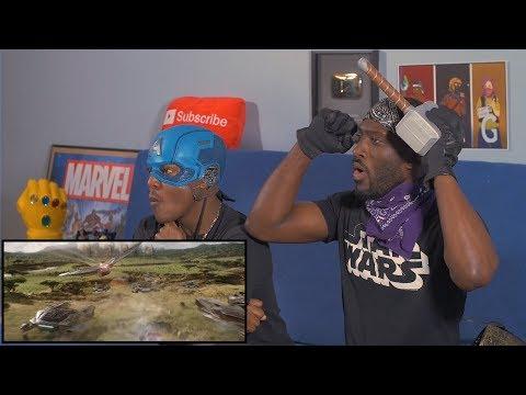 Marvel Studios' Avengers: Infinity War -- Chant TV Spot Reaction