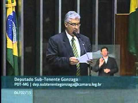 Deputado Subtenente Gonzaga pede valorização das polícias militares e corpos de bombeiros