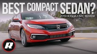 2019 Honda Civic review: Solidifying its spot as top compact sedan by Roadshow