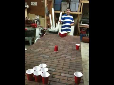 Ballin Bounce Beer Pong Shot