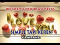 Download Lagu DEKORASI PESTA ULANG TAHUN party ideas decoration CARA DEKOR BALON ULANG TAHUN Mp3 Free