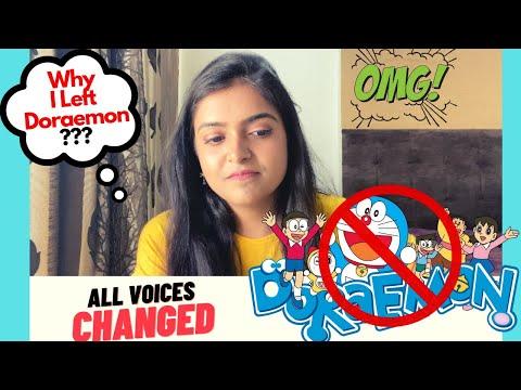 DORAEMON All Voices CHANGED || Why I left Doraemon? || SHOCKED ||