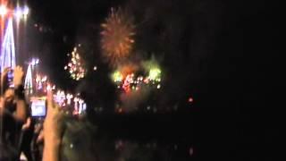 lindo espetaculo de fogos em Blumenau -SC