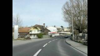 Murten Switzerland  city images : Switzerland 72 (Camera on board) Courgevaux (FR) to Murten/Morat [HD]
