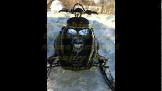 9. 2006 Ski-doo renegade 600 H.O. Jumping and Carving