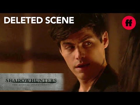Shadowhunters Season 3, Episode 10 | Deleted Scene: Alec Tells Maryse The Truth | Freeform