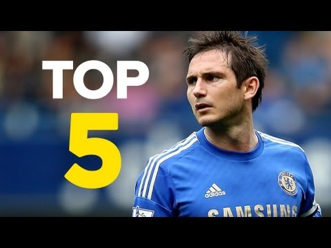 premier league - With Frank Lampard officially becoming Chelsea's all-time top scorer at the weekend, we countdown the Top 5 Premier League Scorers. This Top 5 only counts go...