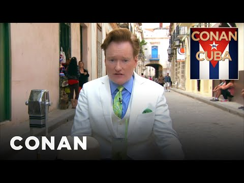"""Conan In Cuba"" Open  – CONAN on TBS"