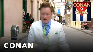 Watch the first four minutes of Conan O'Brien's one-man mission to meet the Cuban people and make some friends. More CONAN in Cuba ...