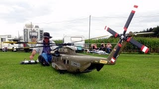 RC BIG SCALE Helicopter CH53 Heer RC