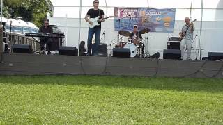 Slow Down by Roger Girke band @ Eastern's Bayside Blues Fest 8/17/2013
