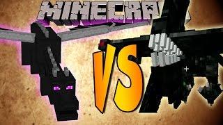 ENDER DRAGON VS NIGHTMARE - Minecraft Batallas de Mobs - Mods