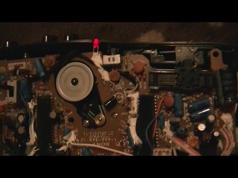 Sony CFS-E2 Radiorecorder Bandgeschwindigkeit richtig einstellen - eflose #446