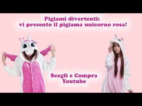 Pigiami divertenti: vi presento il pigiama unicorno rosa!