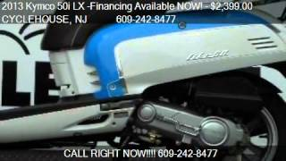 9. 2013 Kymco 50i LX -Financing Available NOW!  - for sale in F