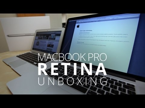 Apple Macbook pro Unboxing - MacBook Pro w/ Retina Display Unboxing! Without a doubt, the star of WWDC this week was Apple's next generation MacBook Pro. Not only is it impossibly thin —...
