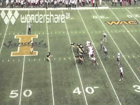 Trey Farquhar field goal vs Texas A&M 2012 video.