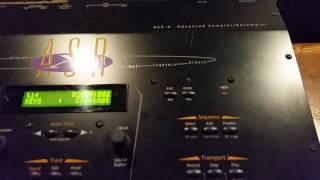 ENSONIQ ASR-X Expanded Sampler Synthesizer Studio Workstation