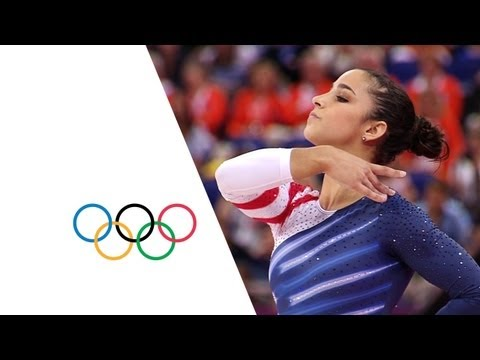 replay - Gymnastics Artistic Women's Floor Exercise Final - Full Replay from the North Greenwich Arena at the London 2012 Olympic Games. -- 7 August 2012 (MEDALLISTS)...