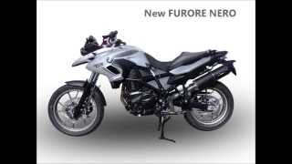 5. BMW F 700 GS 2013 SCARICO GPR EXHAUST SYSTEM VIDEO GPR POT ECHAPPEMENT