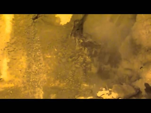 Percement du Tunnelier à Salazie - Ile de la Réunion - 23 mai 2011