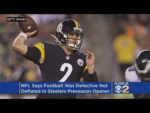 NFL: Deflated Football Used By Steelers Was 'Defective'