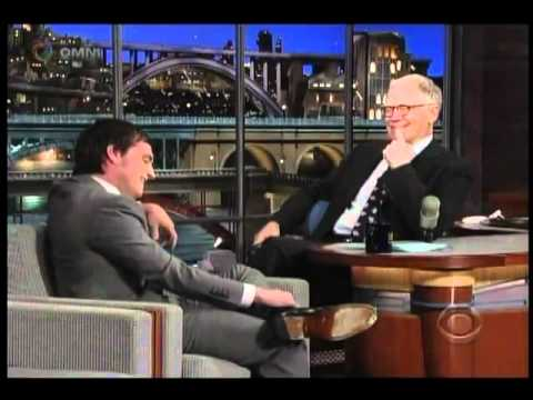 """Josh Hutcherson """"Los juegos del hambre"""" entrevista sub. español """"Late show de David Letterman"""""""