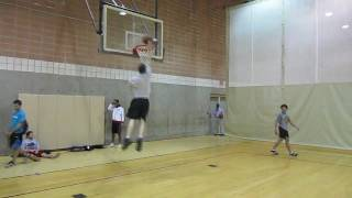 My First Dunk?? (a white boy's journey to dunking)