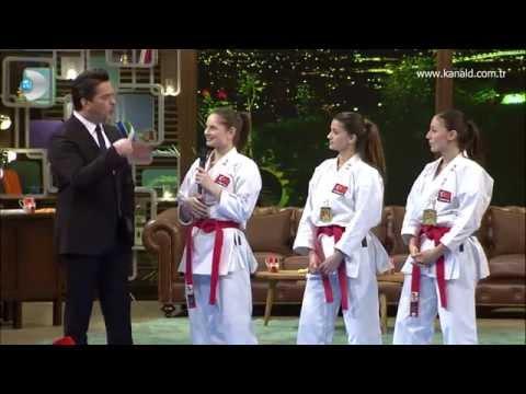Video Avrupa Şampiyonu Türkiye Kadın Kata Milli Takımı Beyaz Show'daydı! download in MP3, 3GP, MP4, WEBM, AVI, FLV January 2017
