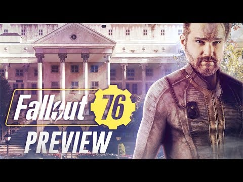 FALLOUT 76 PREVIEW #03 - Wir besuchen uns selbst im Spiel :D.. [Xbox One X]
