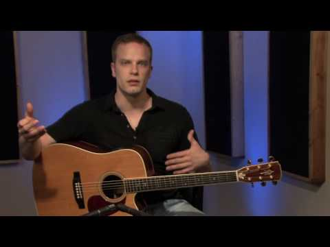 How To Hold The Guitar