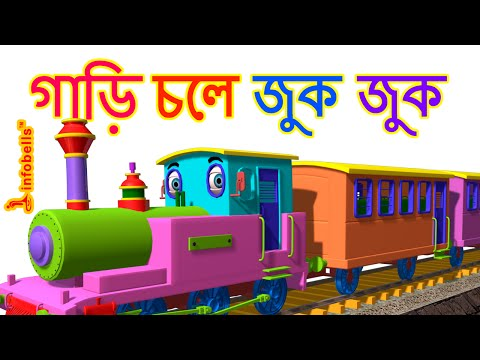Download Train Song | Bengali Rhymes for Children | infobells HD Mp4 3GP Video and MP3