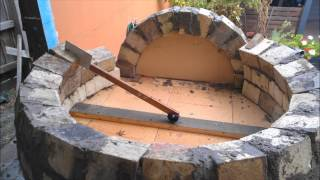 How to build a wood fired pizza/bread oven.