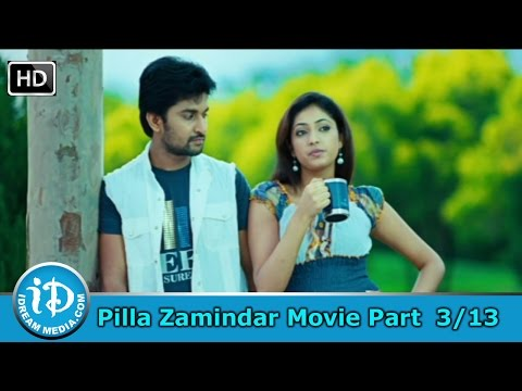 Pilla Zamindar Movie Part 3/13 - Nani, Haripriya, Bindu Madhavi
