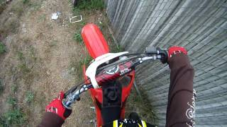 6. GoPro Ride with a 2004 Honda CR85r