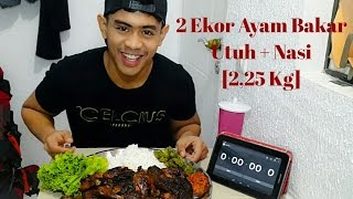 Video MUKBANG !! 2 Ekor Ayam Bakar Utuh + Nasi MP3, 3GP, MP4, WEBM, AVI, FLV November 2017