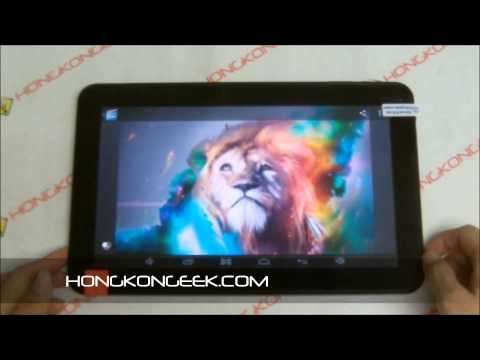 - UNBOXING AND TEST - TACTILE TABLET PLOYER MOMO10D ANDROID 4.2