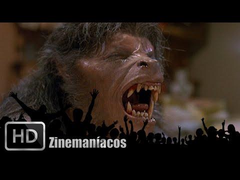 Un hombre Lobo Americano en Londres (Transformación) (видео)