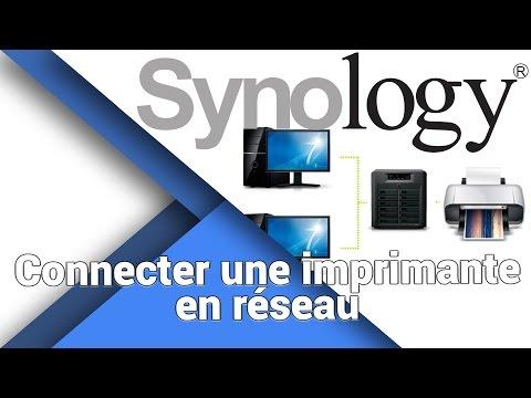 Comment partager une imprimante au sein d'un réseau local domestique - Synology - NAS